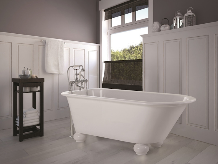 The Fitzroy Bath BC Designs BathroomBathtubs & showers