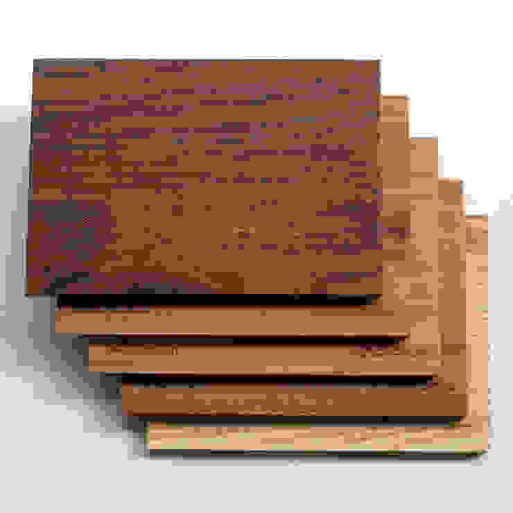 Echtholz? Natürlich! Kostenfrei Holzmuster anfordern: modern  von holzgespür,Modern