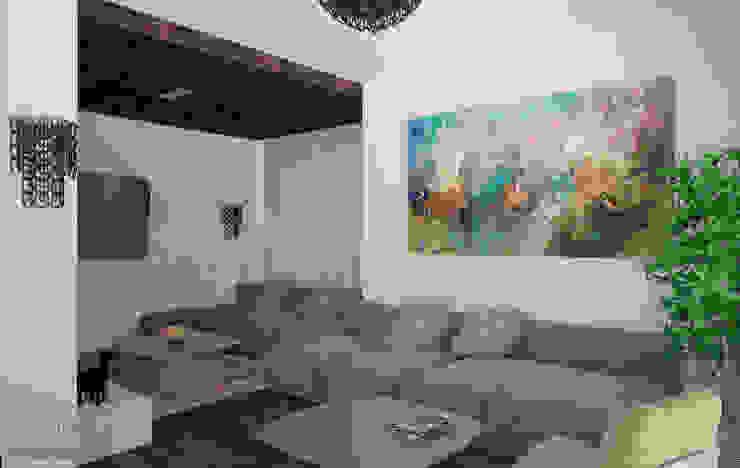 Golfo di La Spezia Гостиная в стиле минимализм от Laboratorio Creativo di Vladimir Lamfadel Минимализм