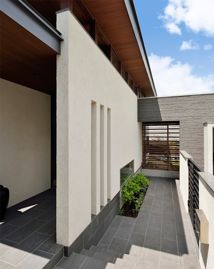 Maisons modernes par H建築スタジオ Moderne