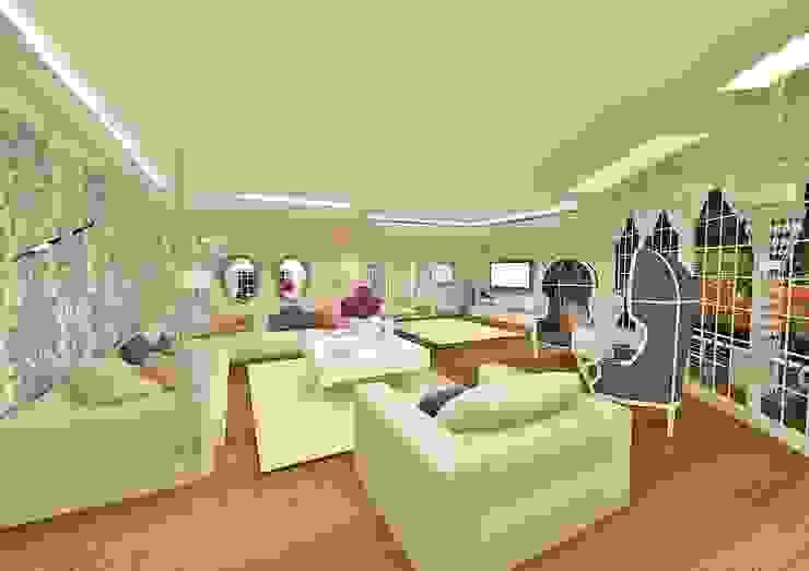 Living room by Meral Akçay Konsept ve Mimarlık,