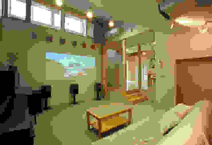 ホームシアター ジェイ石田アソシエイツ オリジナルデザインの リビング