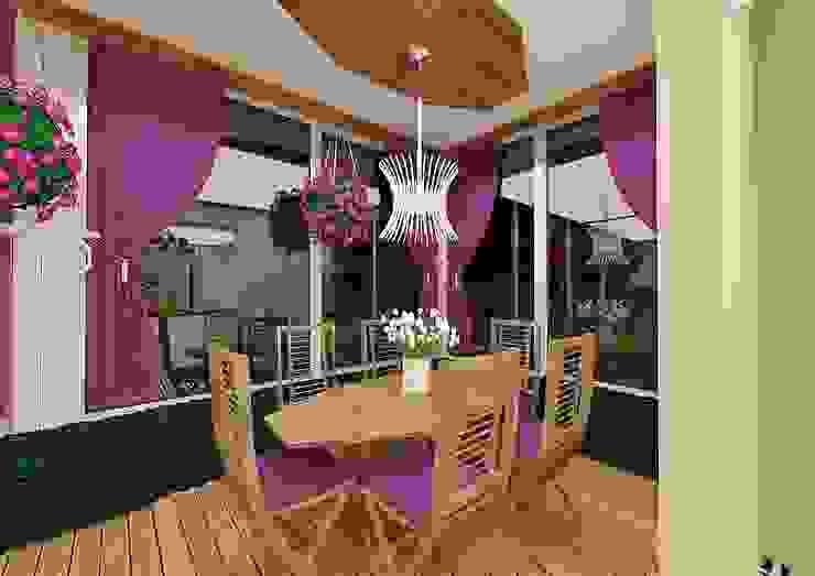 Meral Akçay Konsept ve Mimarlık Mediterranean style dining room