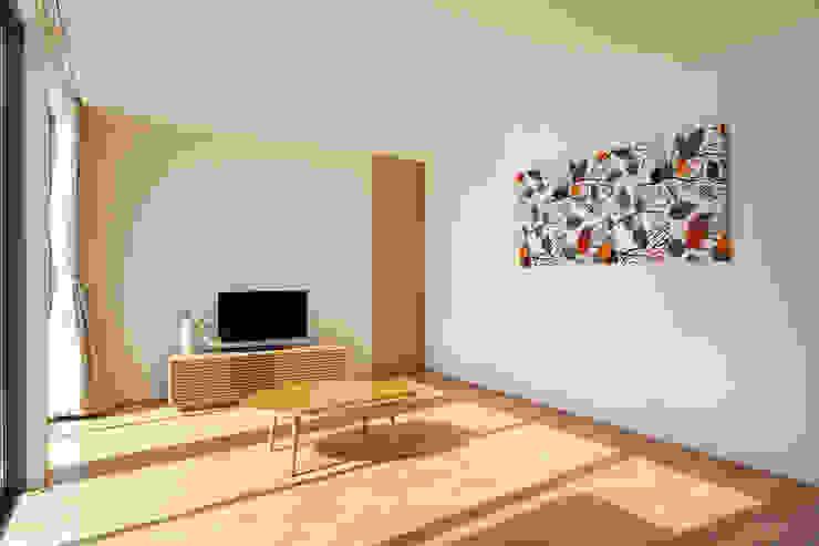 H建築スタジオ Modern Living Room