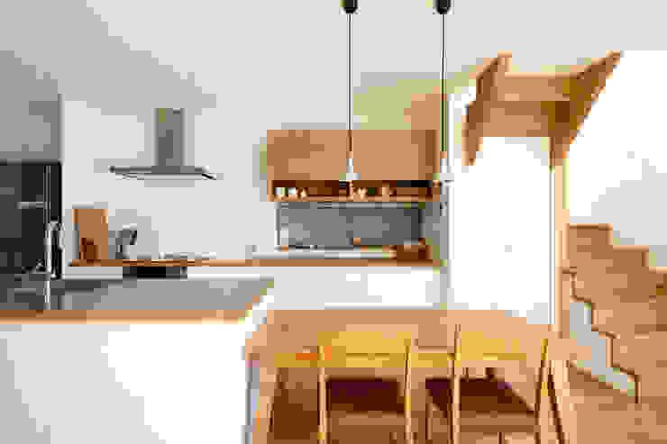 H建築スタジオ Scandinavian style dining room