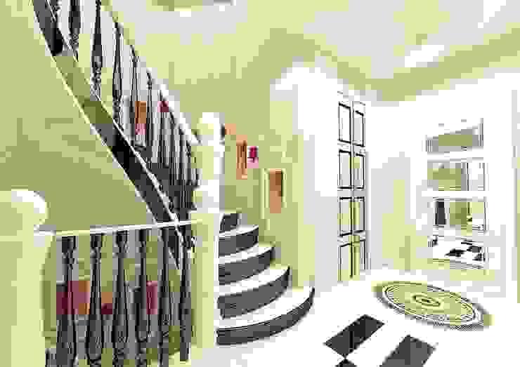 Feng Shui Uygulama Modern Koridor, Hol & Merdivenler Meral Akçay Konsept ve Mimarlık Modern