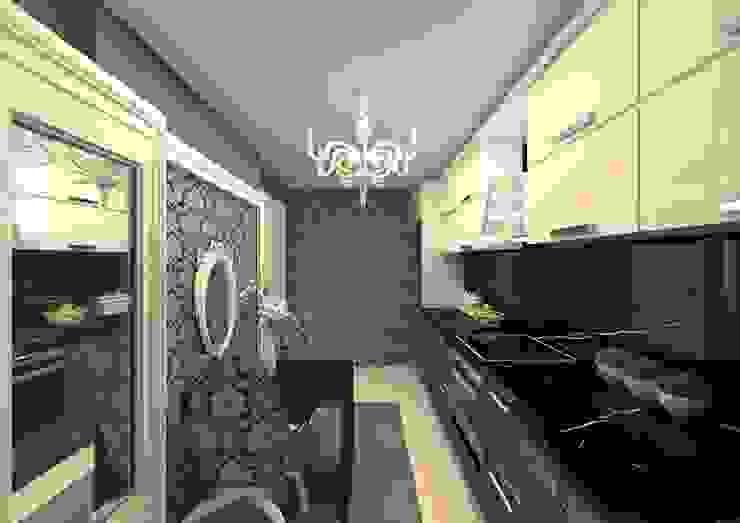 Cocinas de estilo moderno de Meral Akçay Konsept ve Mimarlık Moderno