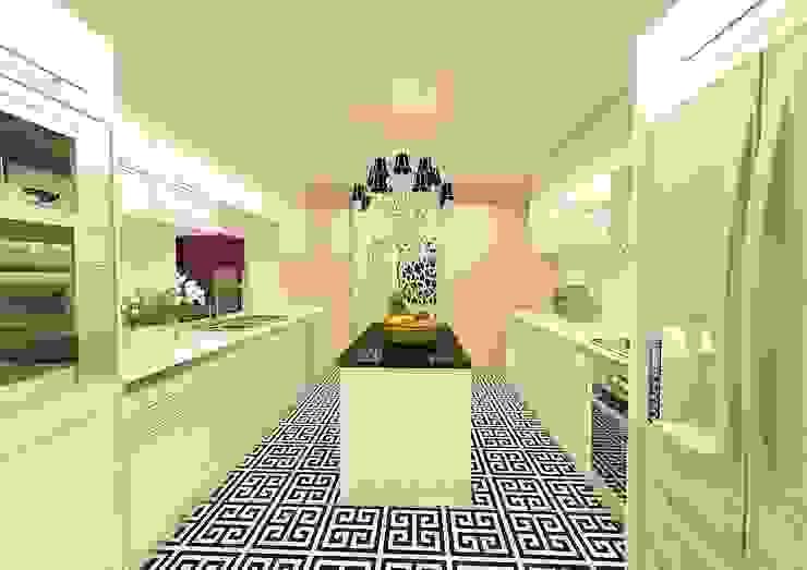Moderne Badezimmer von Meral Akçay Konsept ve Mimarlık Modern