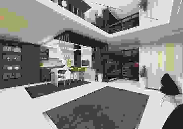Feng Shui Uygulama Modern Mutfak Meral Akçay Konsept ve Mimarlık Modern