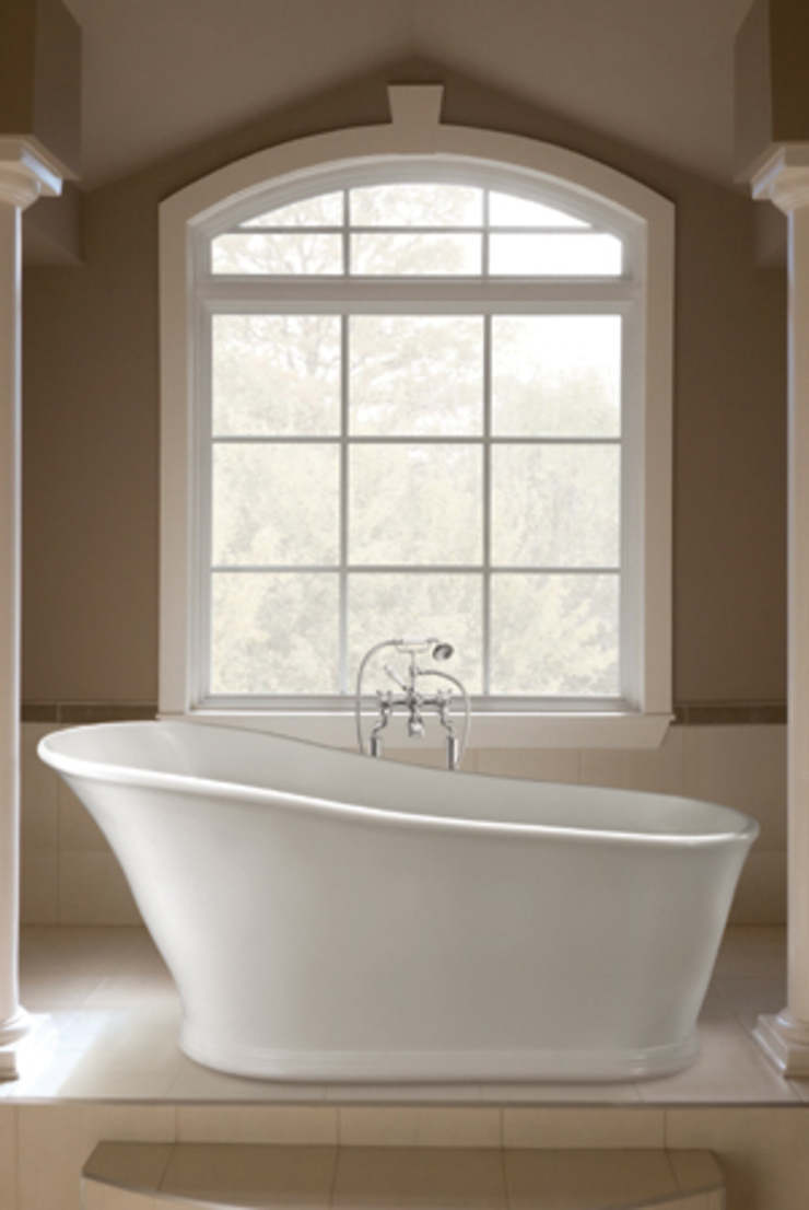 The Aurelius Slipper Bath: classic  by BC Designs, Classic