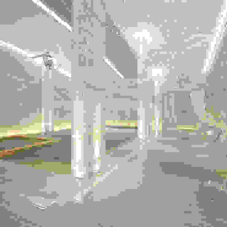 Интерьеры современного особняка в стиле ар-деко, Нью-Йорк, США Бассейны в эклектичном стиле от Марина Анисович, студия NEUMARK Эклектичный