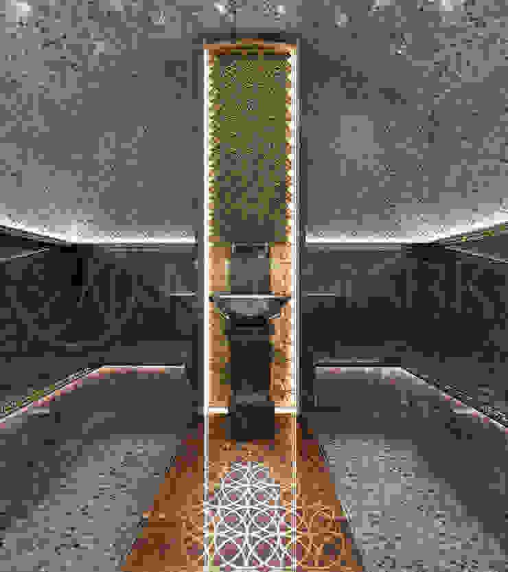 Интерьеры современного особняка в стиле ар-деко, Нью-Йорк, США Спа в эклектичном стиле от Марина Анисович, студия NEUMARK Эклектичный