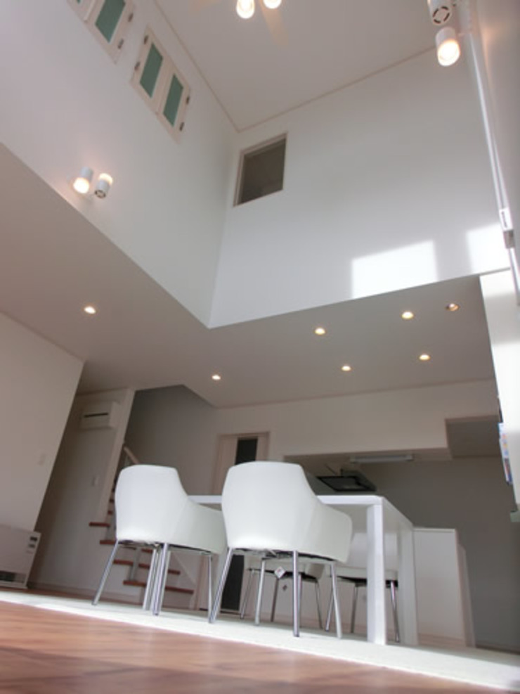 IDEAL モダンデザインの ダイニング の 株式会社IDEAL建築設計研究所 モダン