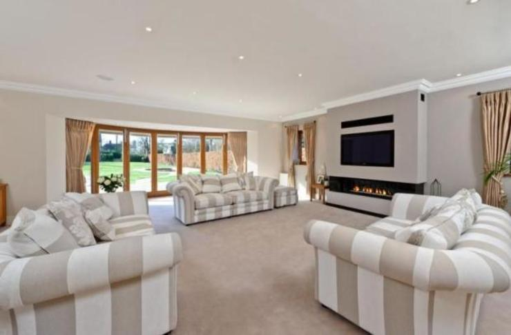 Project 10 Woldingham Flairlight Designs Ltd Living roomLighting