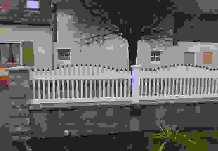 Jardines de estilo  por Ogrodzenia PCV