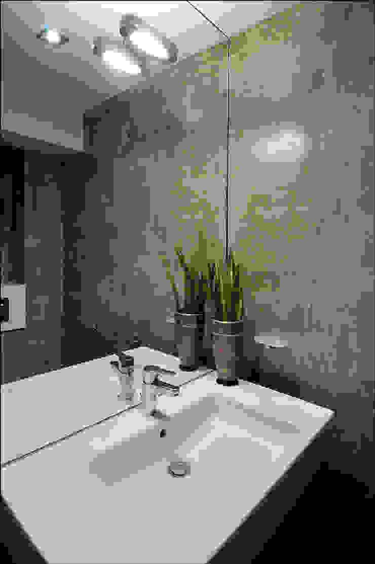 Квартира Мити Фомина Ванная комната в стиле модерн от Студия дизайна интерьера Лелы Кавтарадзе Модерн