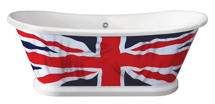 The Flag Bath BC Designs Salle de bainBaignoires & douches