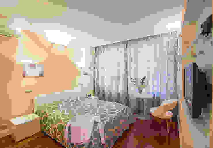 Достичь вершин Спальня в стиле минимализм от D&T Architects Минимализм