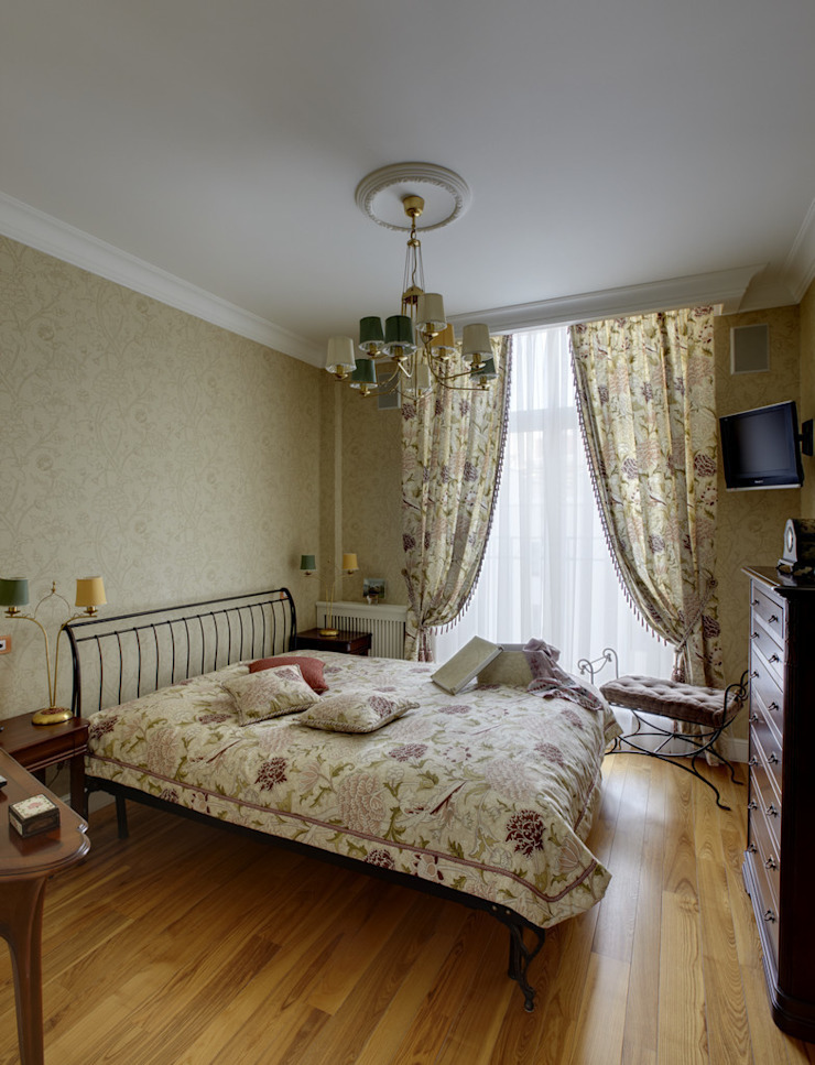 Classic style bedroom by D&T Architects Classic