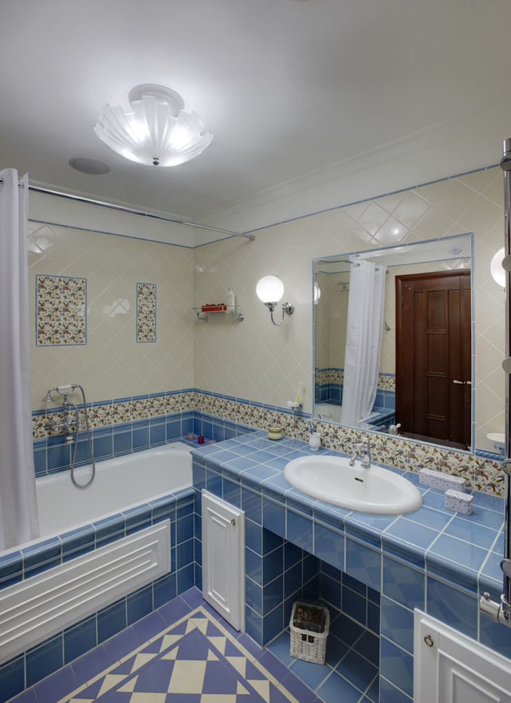Classic style bathroom by D&T Architects Classic