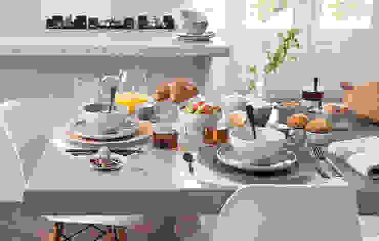 Ontbijtmoment in Basic stijl - voor:  Eetkamer door Bitossi Home,