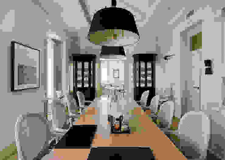 Vivienda zona Justicia, Madrid Salones de estilo clásico de nimú equipo de diseño Clásico
