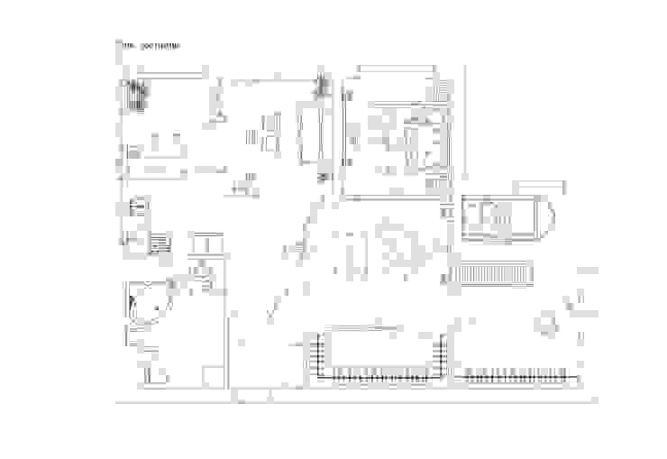 Modern Walls and Floors by Студия дизайна интерьера 'Золотое сечение' Modern