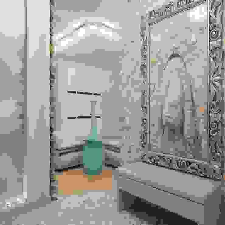 Modern Corridor, Hallway and Staircase by Студия дизайна интерьера 'Золотое сечение' Modern
