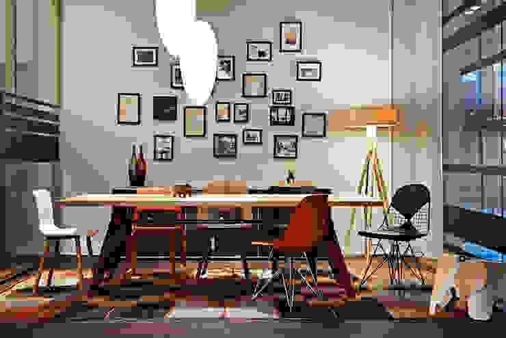 USM Vitra Store Espaços comerciais minimalistas por minimum einrichten GmbH Minimalista