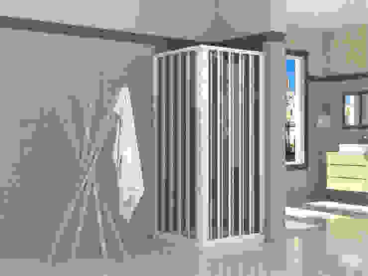 Casas de banho ecléticas por Mampara.es - Italydoccia Eclético