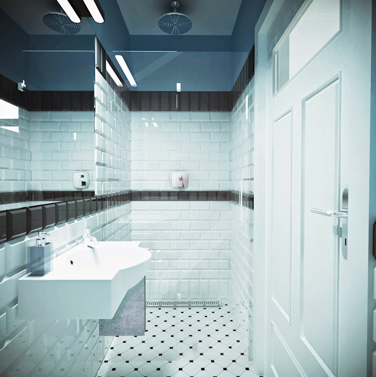łazienka od atoato Nowoczesny
