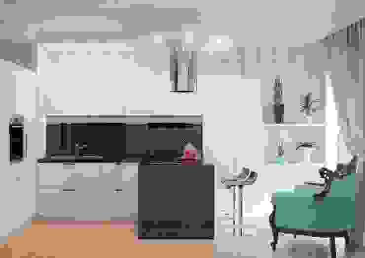 Студия дизайна интерьера 'Золотое сечение' Modern Kitchen