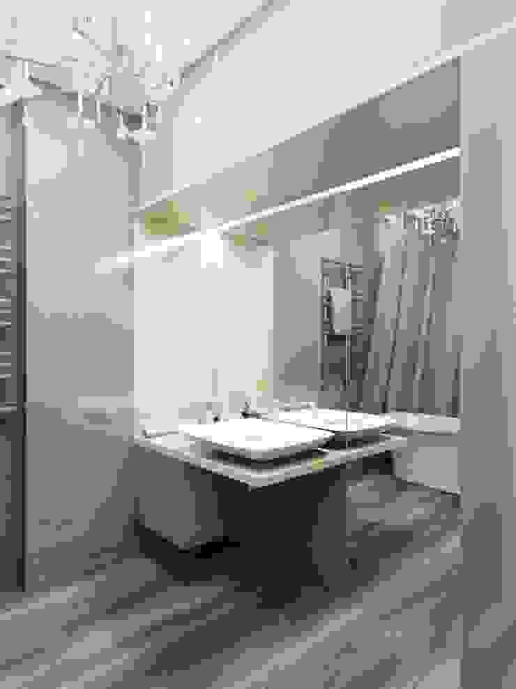 Modern Bathroom by Студия дизайна интерьера 'Золотое сечение' Modern