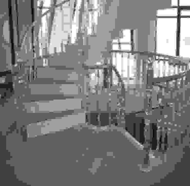 Kcc yapı dekarasyon – Merdiven Korkuluk ve küpeşte: modern tarz , Modern
