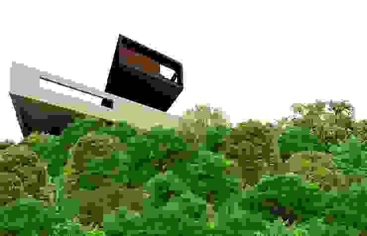 House in Quebec Modern houses by Nico Van Der Meulen Architects Modern