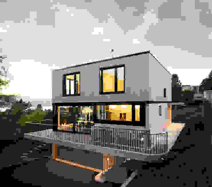 Haus Tschannen Faes, Erlenbach, Südostansicht Andreas Müller Architekten Moderne Häuser