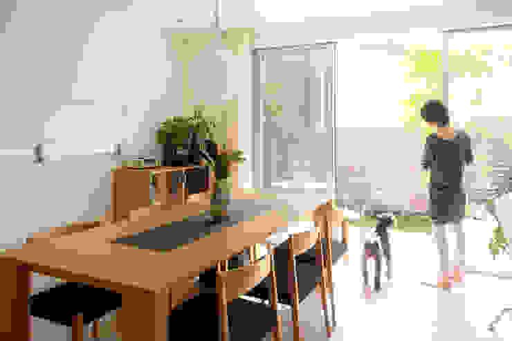 H建築スタジオ Comedores de estilo moderno