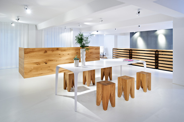 agape by minimum Minimalist commercial spaces by minimum einrichten GmbH Minimalist