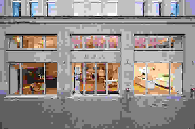 bulthaup in der Torstraße Minimalist commercial spaces by minimum einrichten GmbH Minimalist