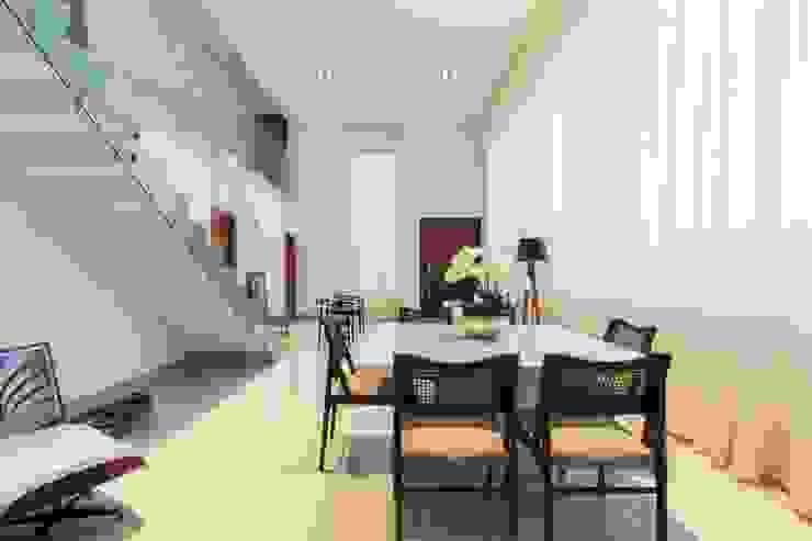 Sala de Jantar Oleh Tony Santos Arquitetura Minimalis