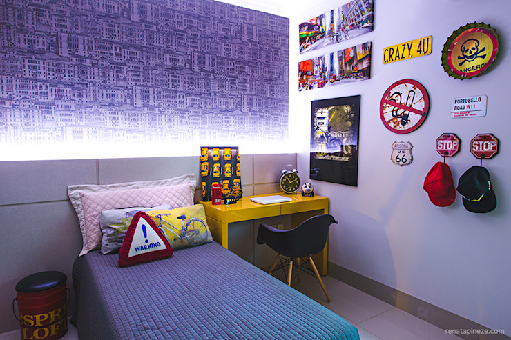Dormitorios infantiles de estilo moderno de Rafaela Dal'Maso Arquitetura Moderno
