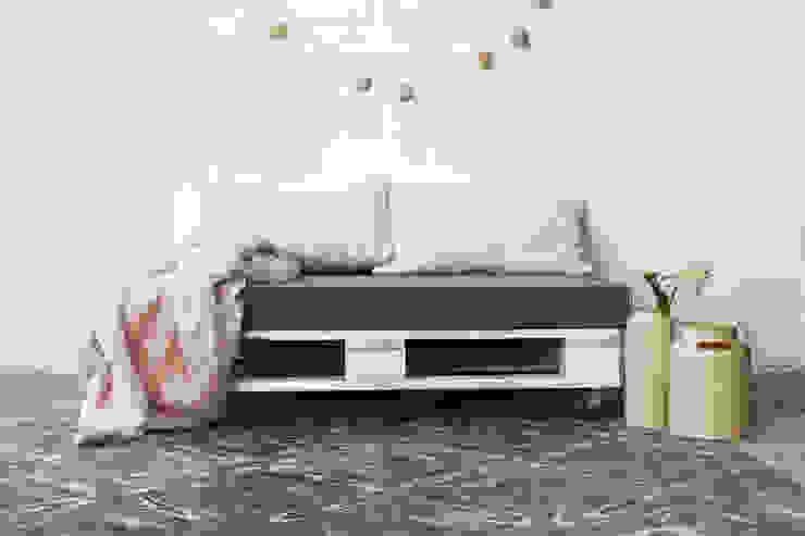 ANETO puf palets 120x80cm de ECOdECO Mobiliario Rural