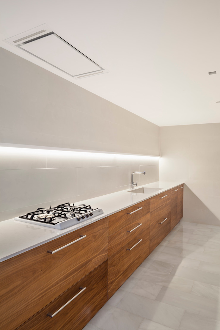 Casa CP Alventosa Morell Arquitectes Minimalist kitchen