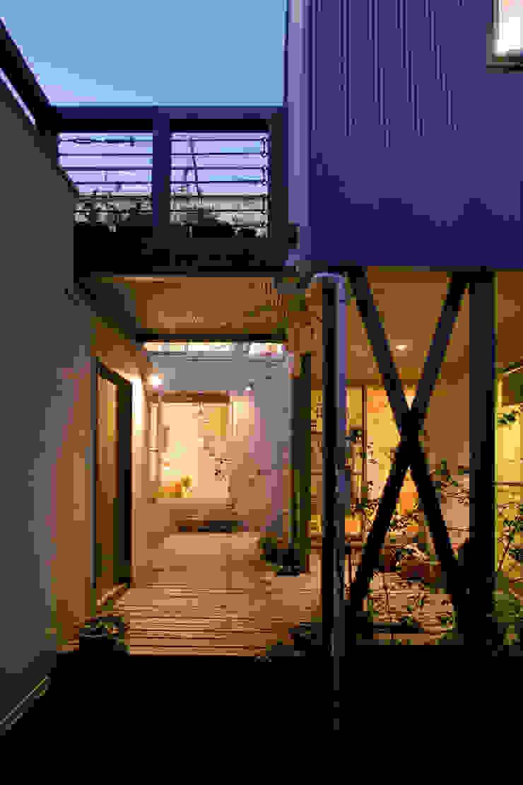 メロディーが囁く家 オリジナルな 庭 の ジェイ石田アソシエイツ オリジナル