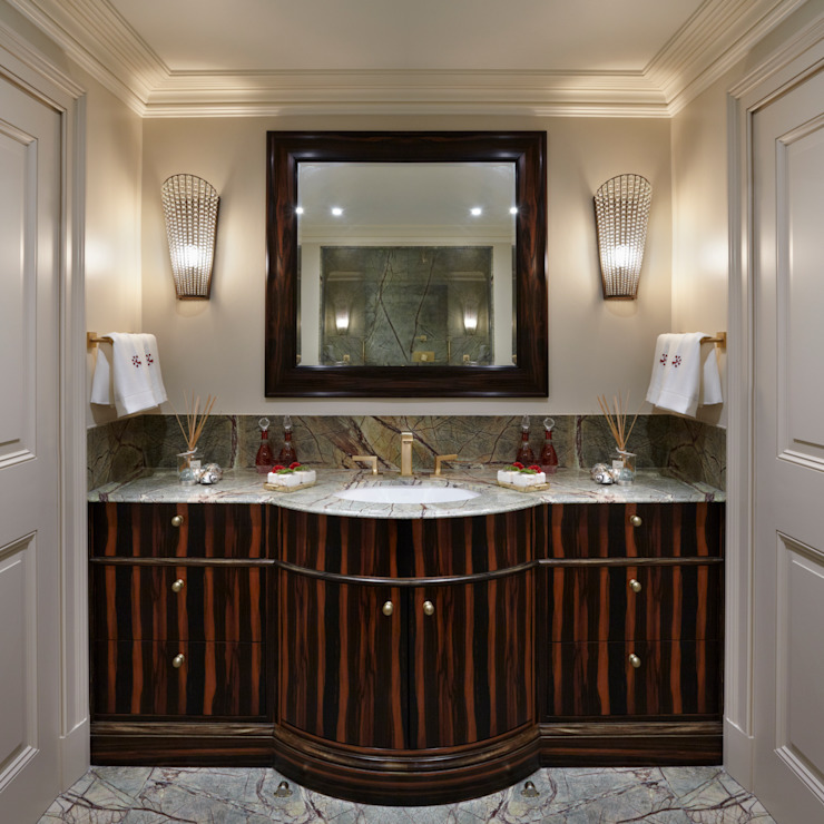 Guest Bathroom - Vanity Unit Classic style bathroom by Meltons Classic