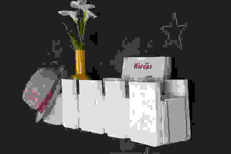 POSETS estantería palets. 80cm de ECOdECO Mobiliario Rústico