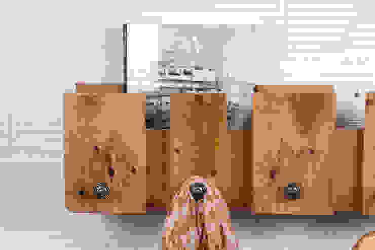 POSETS perchero palets. 80cm. de ECOdECO Mobiliario Rústico