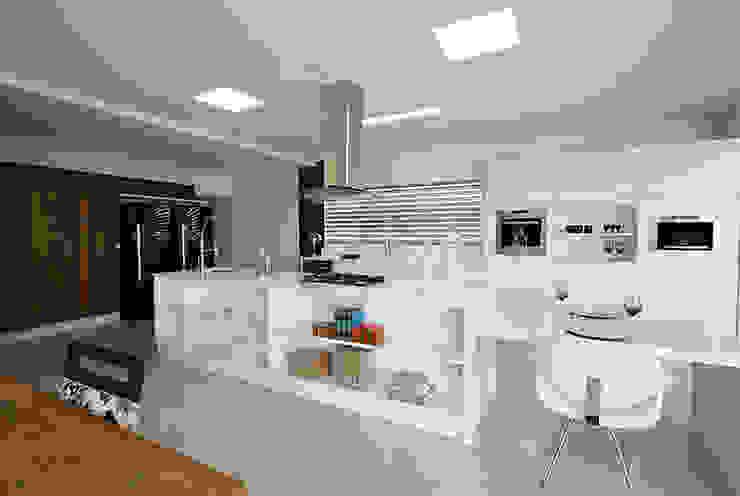 Cozinha Gourmet Cozinhas modernas por Rafaela Dal'Maso Arquitetura Moderno