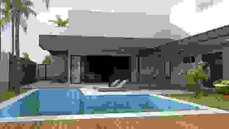 Modern houses by Rafaela Dal'Maso Arquitetura Modern