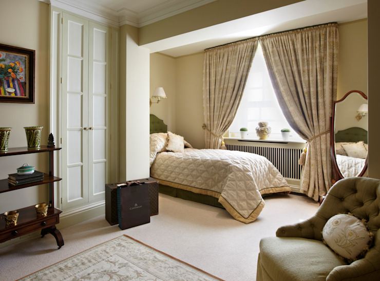 Guest Bedroom with seating area Classic style bedroom by Meltons Classic